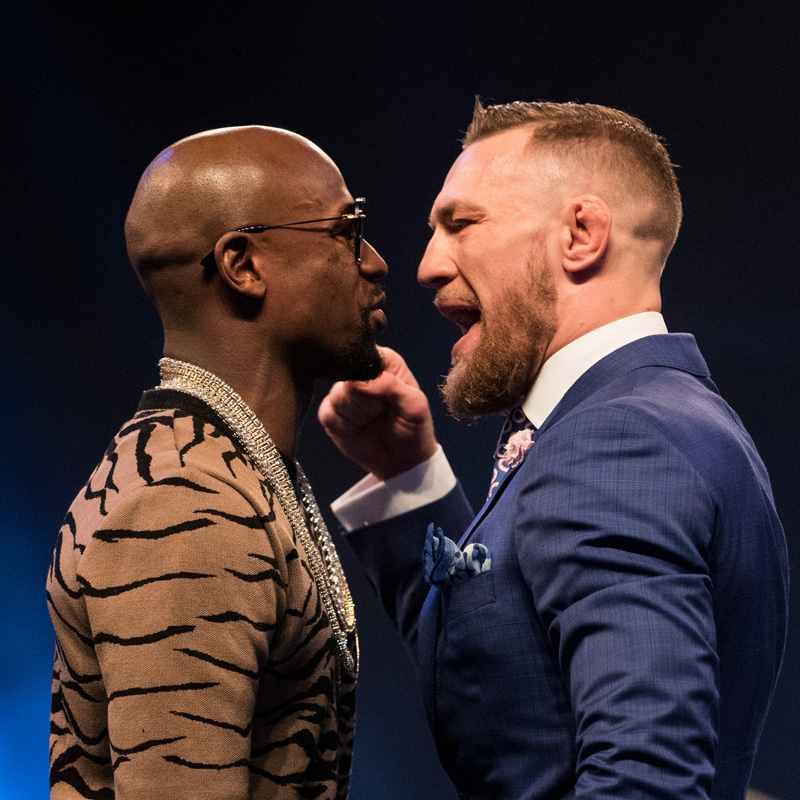 UK Media Tour - Floyd Mayweather v Conor McGregor